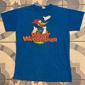 VTG Woody Woodpecker Single-Stitched Graphic Tee